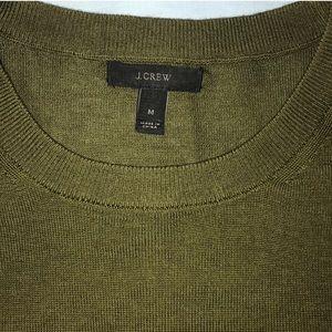 J. Crew Army Tippi Sweater Sz M